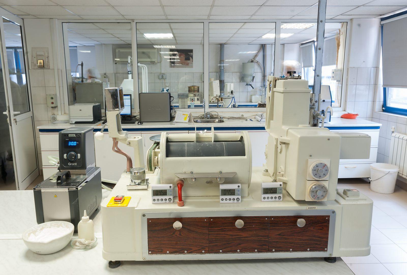 Laboratorium voor geoptimaliseerd naaldhout