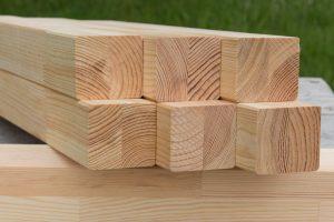 houtproducten van Europees naaldhout